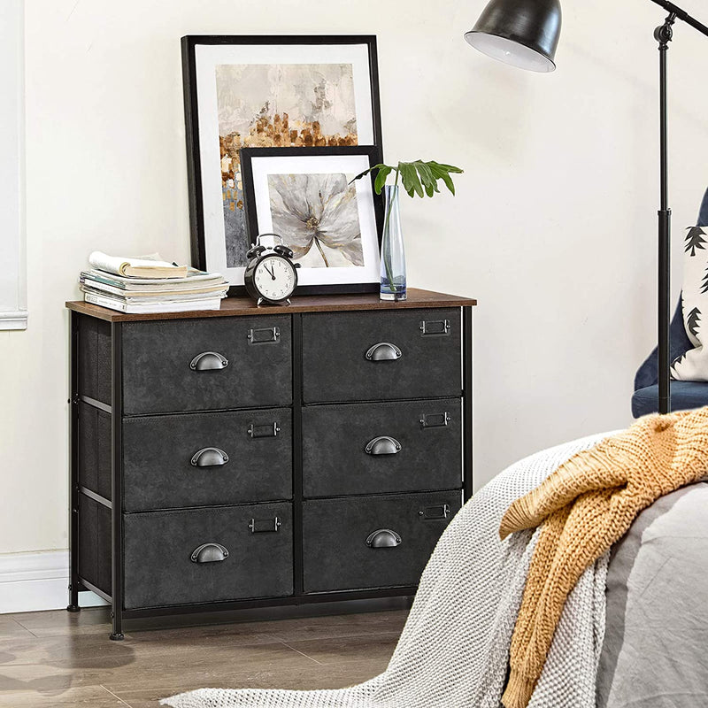 Enjoy fast, free nationwide shipping!  Family owned and operated, HawkinsWoodshop.com is your one stop shop for affordable furniture.  Shop HawkinsWoodshop.com for solid wood & metal modern, traditional, contemporary, industrial, custom, rustic, and farmhouse furniture including our 6 Tier Wide Dresser Drawers.
