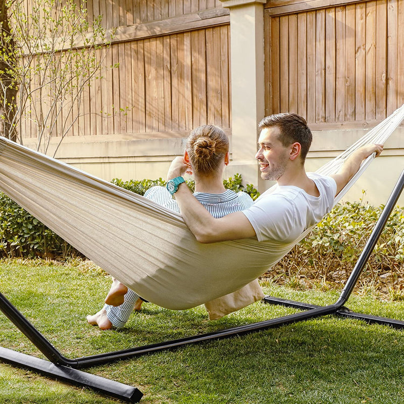 Enjoy fast, free nationwide shipping!  Family owned and operated, HawkinsWoodshop.com is your one stop shop for affordable furniture.  Shop HawkinsWoodshop.com for solid wood & metal modern, traditional, contemporary, industrial, custom, rustic, and farmhouse furniture including our Natural White Camping Double Hammock.