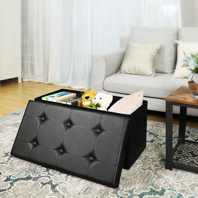 Enjoy fast, free nationwide shipping!  Family owned and operated, HawkinsWoodshop.com is your one stop shop for affordable furniture.  Shop HawkinsWoodshop.com for solid wood & metal modern, traditional, contemporary, industrial, custom, rustic, and farmhouse furniture including our Black Faux Leather Ottoman Bench.