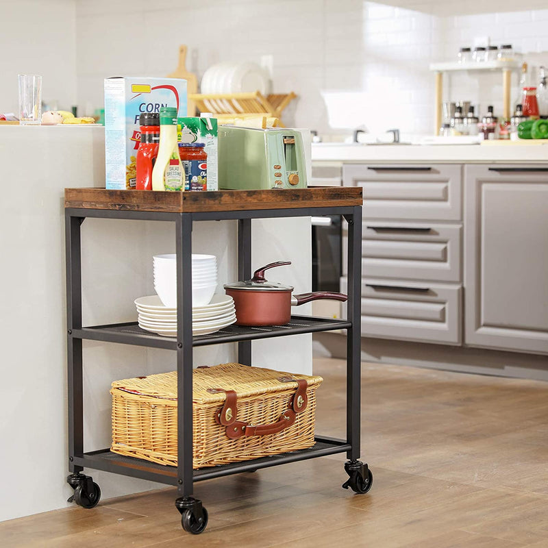 Enjoy fast, free nationwide shipping!  Family owned and operated, HawkinsWoodshop.com is your one stop shop for affordable furniture.  Shop HawkinsWoodshop.com for solid wood & metal modern, traditional, contemporary, industrial, custom, rustic, and farmhouse furniture including our Ryan Mesh Shelves Kitchen Cart.