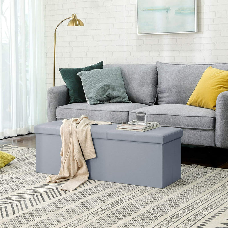 Enjoy fast, free nationwide shipping!  Family owned and operated, HawkinsWoodshop.com is your one stop shop for affordable furniture.  Shop HawkinsWoodshop.com for solid wood & metal modern, traditional, contemporary, industrial, custom, rustic, and farmhouse furniture including our Button Tufted Storage Ottoman in Gray.