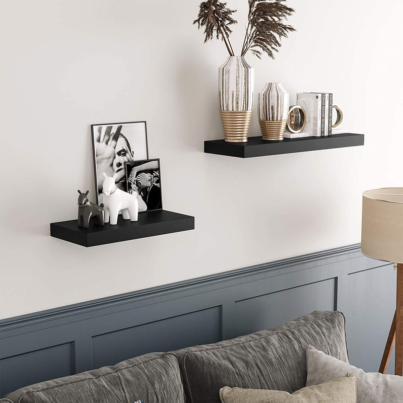 Enjoy fast, free nationwide shipping!  Family owned and operated, HawkinsWoodshop.com is your one stop shop for affordable furniture.  Shop HawkinsWoodshop.com for solid wood & metal modern, traditional, contemporary, industrial, custom, rustic, and farmhouse furniture including our Black Floating Wall Shelf.