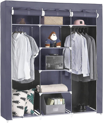 Enjoy fast, free nationwide shipping!  Family owned and operated, HawkinsWoodshop.com is your one stop shop for affordable furniture.  Shop HawkinsWoodshop.com for solid wood & metal modern, traditional, contemporary, industrial, custom, rustic, and farmhouse furniture including our Double Rod Non-Woven Fabric Wardrobe.