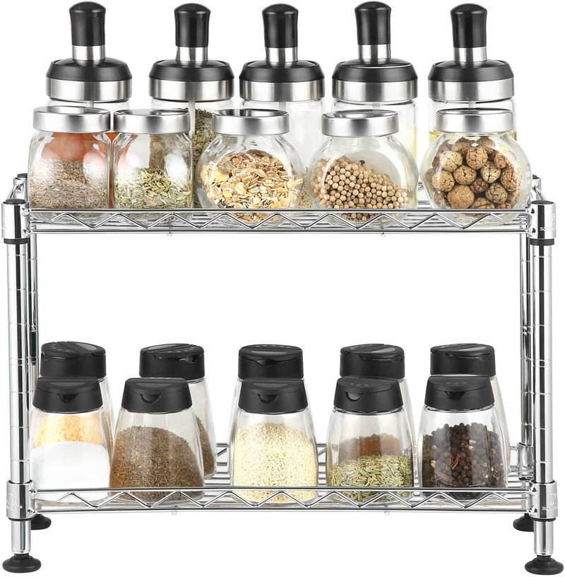 Enjoy fast, free nationwide shipping!  Owned by a husband and wife team of high-school music teachers, HawkinsWoodshop.com is your one stop shop for affordable furniture.  Shop HawkinsWoodshop.com for solid wood & metal modern, traditional, contemporary, industrial, custom, rustic, and farmhouse furniture including our 2-Tier Metal Kitchen Spice Rack.