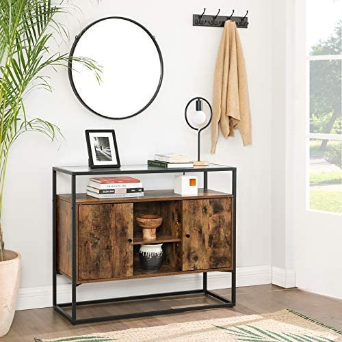 Enjoy fast, free nationwide shipping!  Family owned and operated, HawkinsWoodshop.com is your one stop shop for affordable furniture.  Shop HawkinsWoodshop.com for solid wood & metal modern, traditional, contemporary, industrial, custom, rustic, and farmhouse furniture including our Ryan Glass Surface Storage Cabinet.