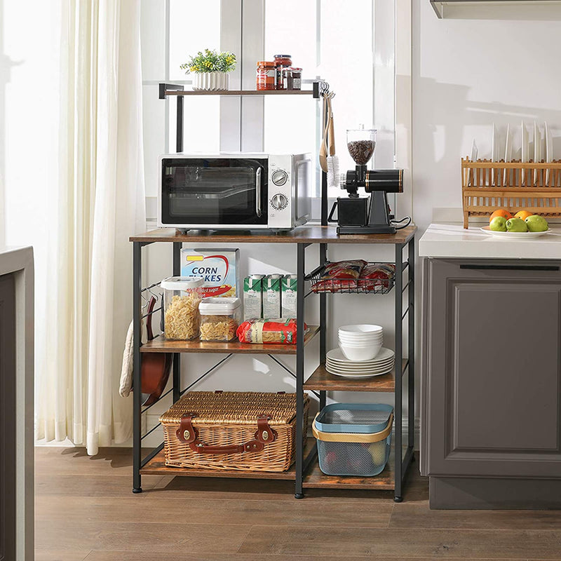 Enjoy fast, free nationwide shipping!  Owned by a husband and wife team of high-school music teachers, HawkinsWoodshop.com is your one stop shop for affordable furniture.  Shop HawkinsWoodshop.com for solid wood & metal modern, traditional, contemporary, industrial, custom, rustic, and farmhouse furniture including our Ryan Kitchen Shelf with Wire Basket.