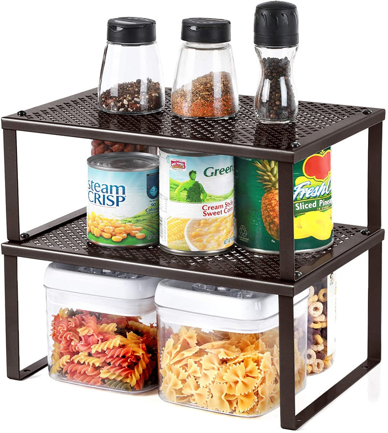 Enjoy fast, free nationwide shipping!  Owned by a husband and wife team of high-school music teachers, HawkinsWoodshop.com is your one stop shop for affordable furniture.  Shop HawkinsWoodshop.com for solid wood & metal modern, traditional, contemporary, industrial, custom, rustic, and farmhouse furniture including our Expandable Brown Cabinet Shelf Organizer.