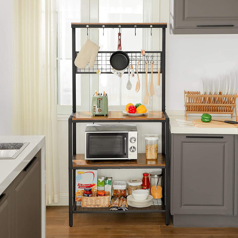 Enjoy fast, free nationwide shipping!  Owned by a husband and wife team of high-school music teachers, HawkinsWoodshop.com is your one stop shop for affordable furniture.  Shop HawkinsWoodshop.com for solid wood & metal modern, traditional, contemporary, industrial, custom, rustic, and farmhouse furniture including our Ryan Mesh Panel Kitchen Rack.