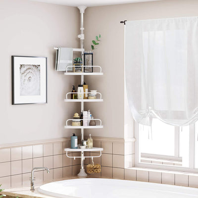 Enjoy fast, free nationwide shipping!  Family owned and operated, HawkinsWoodshop.com is your one stop shop for affordable furniture.  Shop HawkinsWoodshop.com for solid wood & metal modern, traditional, contemporary, industrial, custom, rustic, and farmhouse furniture including our Tension Corner Shower Caddy in White.