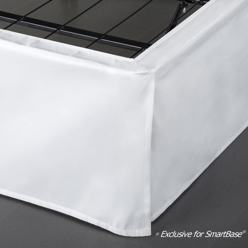 SmartBase Bed Skirt Easy On & Off Design
