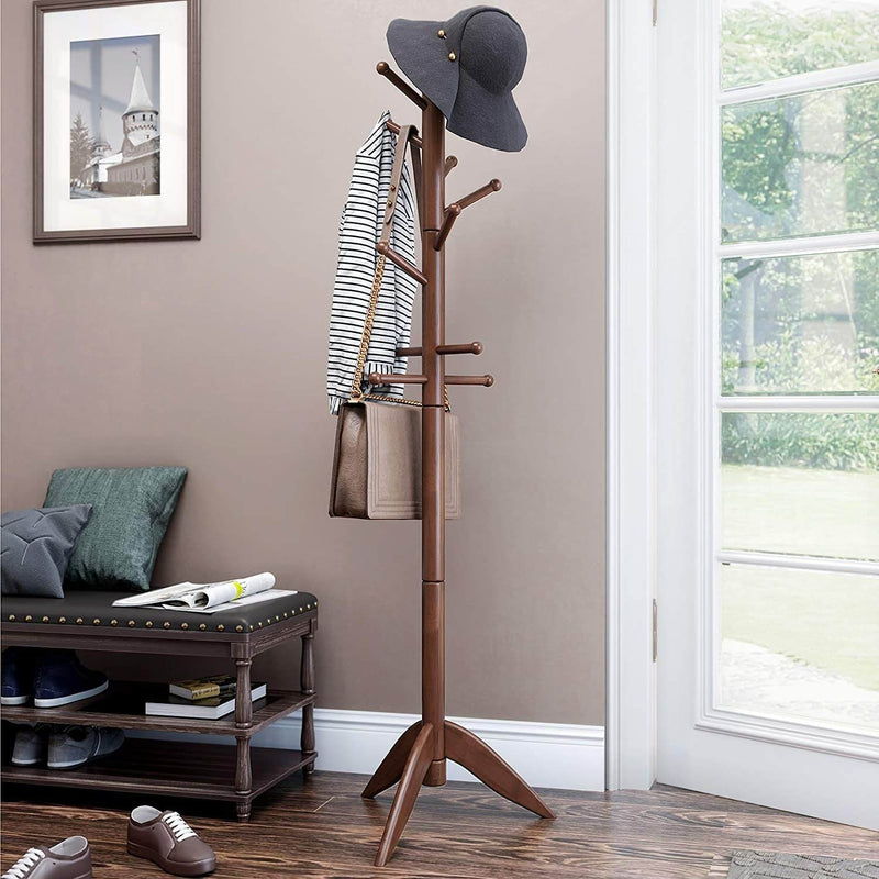 Enjoy fast, free nationwide shipping!  Family owned and operated, HawkinsWoodshop.com is your one stop shop for affordable furniture.  Shop HawkinsWoodshop.com for solid wood & metal modern, traditional, contemporary, industrial, custom, rustic, and farmhouse furniture including our 11 Hooks Freestanding Coat Rack.