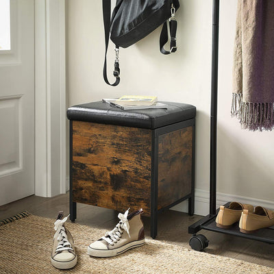 Enjoy fast, free nationwide shipping!  Family owned and operated, HawkinsWoodshop.com is your one stop shop for affordable furniture.  Shop HawkinsWoodshop.com for solid wood & metal modern, traditional, contemporary, industrial, custom, rustic, and farmhouse furniture including our Ryan Industrial Storage Ottoman.