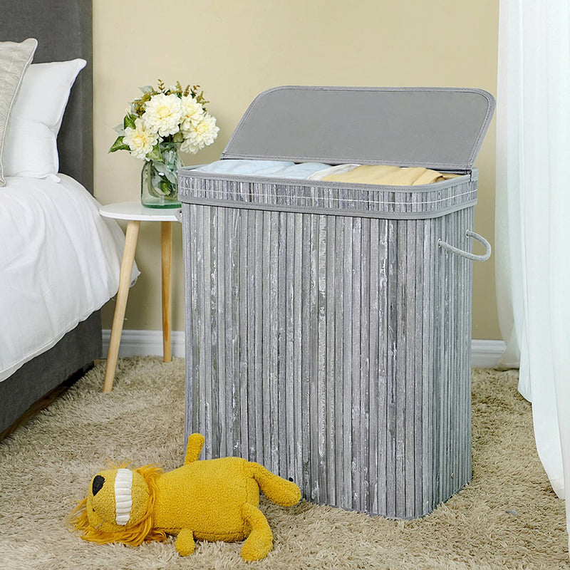 Enjoy fast, free nationwide shipping!  Family owned and operated, HawkinsWoodshop.com is your one stop shop for affordable furniture.  Shop HawkinsWoodshop.com for solid wood & metal modern, traditional, contemporary, industrial, custom, rustic, and farmhouse furniture including our Bamboo Double Laundry Hamper with Lid.