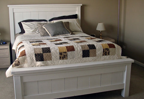 Shop hawkinswoodshop.com for solid wood & metal modern, traditional, contemporary, industrial, custom & farmhouse furniture including our Custom Built-to-Order Farmhouse Queen Bed.  Ask about our free nationwide freight delivery and low cost white glove assembly services.