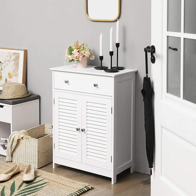 Enjoy fast, free nationwide shipping!  Family owned and operated, HawkinsWoodshop.com is your one stop shop for affordable furniture.  Shop HawkinsWoodshop.com for solid wood & metal modern, traditional, contemporary, industrial, custom, rustic, and farmhouse furniture including our Scandinavian Style 2 Louvered Doors Cabinet.