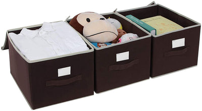 Enjoy fast, free nationwide shipping!  Family owned and operated, HawkinsWoodshop.com is your one stop shop for affordable furniture.  Shop HawkinsWoodshop.com for solid wood & metal modern, traditional, contemporary, industrial, custom, rustic, and farmhouse furniture including our Brown Large Storage Boxes Set of 3.