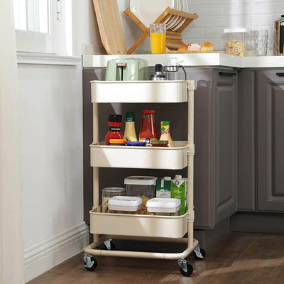 Enjoy fast, free nationwide shipping!  Family owned and operated, HawkinsWoodshop.com is your one stop shop for affordable furniture.  Shop HawkinsWoodshop.com for solid wood & metal modern, traditional, contemporary, industrial, custom, rustic, and farmhouse furniture including our 3 Tier Metal Rolling Storage Trolley.
