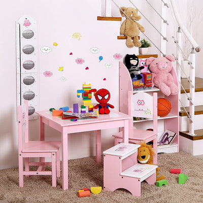 Enjoy fast, free nationwide shipping!  Family owned and operated, HawkinsWoodshop.com is your one stop shop for affordable furniture.  Shop HawkinsWoodshop.com for solid wood & metal modern, traditional, contemporary, industrial, custom, rustic, and farmhouse furniture including our Pink and White Children Step Stool.