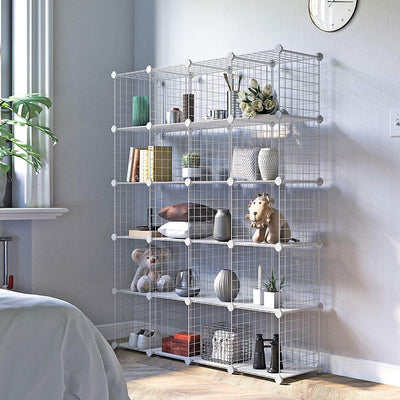 Enjoy fast, free nationwide shipping!  Family owned and operated, HawkinsWoodshop.com is your one stop shop for affordable furniture.  Shop HawkinsWoodshop.com for solid wood & metal modern, traditional, contemporary, industrial, custom, rustic, and farmhouse furniture including our 20 Wire Cube Modular Rack.