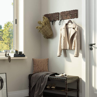 Enjoy fast, free nationwide shipping!  Family owned and operated, HawkinsWoodshop.com is your one stop shop for affordable furniture.  Shop HawkinsWoodshop.com for solid wood & metal modern, traditional, contemporary, industrial, custom, rustic, and farmhouse furniture including our Rustic Style Wall Mounted Hook Rack.