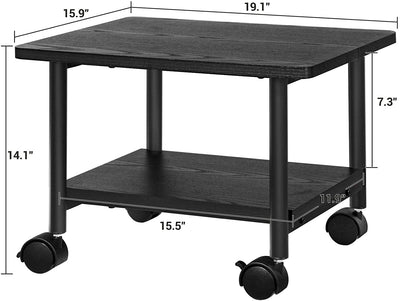 Enjoy fast, free nationwide shipping!  Family owned and operated, HawkinsWoodshop.com is your one stop shop for affordable furniture.  Shop HawkinsWoodshop.com for solid wood & metal modern, traditional, contemporary, industrial, custom, rustic, and farmhouse furniture including our Black Under Desk Printer Stand on Wheels.