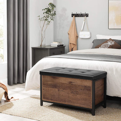 Enjoy fast, free nationwide shipping!  Family owned and operated, HawkinsWoodshop.com is your one stop shop for affordable furniture.  Shop HawkinsWoodshop.com for solid wood & metal modern, traditional, contemporary, industrial, custom, rustic, and farmhouse furniture including our Ryan Entryway Storage Bench Ottoman.