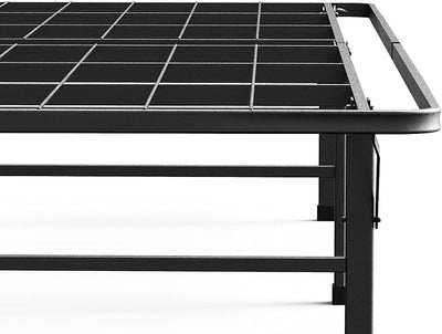Metal SmartBase Mattress Foundation / Platform Bed Frame in Deluxe Full