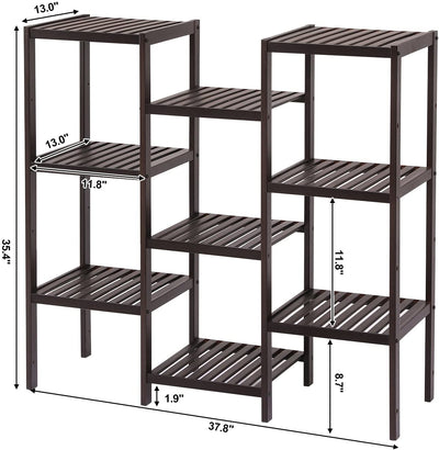 Enjoy fast, free nationwide shipping!  Family owned and operated, HawkinsWoodshop.com is your one stop shop for affordable furniture.  Shop HawkinsWoodshop.com for solid wood & metal modern, traditional, contemporary, industrial, custom, rustic, and farmhouse furniture including our Bamboo Customizable Plant Stand Storage Rack.
