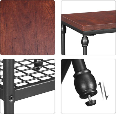 Enjoy fast, free nationwide shipping!  Family owned and operated, HawkinsWoodshop.com is your one stop shop for affordable furniture.  Shop HawkinsWoodshop.com for solid wood & metal modern, traditional, contemporary, industrial, custom, rustic, and farmhouse furniture including our Cherry Finish 2 Tier End Table.