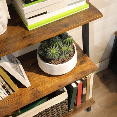 Enjoy fast, free nationwide shipping!  Family owned and operated, HawkinsWoodshop.com is your one stop shop for affordable furniture.  Shop HawkinsWoodshop.com for solid wood & metal modern, traditional, contemporary, industrial, custom, rustic, and farmhouse furniture including our 4 Tiers Industrial Ryan Ladder Shelf.