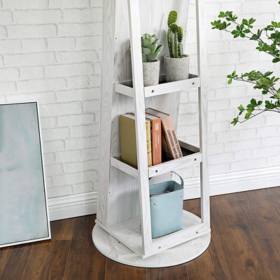 Enjoy fast, free nationwide shipping!  Owned by a husband and wife team of high-school music teachers, HawkinsWoodshop.com is your one stop shop for affordable furniture.  Shop HawkinsWoodshop.com for solid wood & metal modern, traditional, contemporary, industrial, custom, rustic, and farmhouse furniture including our Swivel Lockable Jewelry Cabinet.