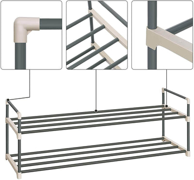 Enjoy fast, free nationwide shipping!  Family owned and operated, HawkinsWoodshop.com is your one stop shop for affordable furniture.  Shop HawkinsWoodshop.com for solid wood & metal modern, traditional, contemporary, industrial, custom, rustic, and farmhouse furniture including our 2 Tier Metal Shoe Organizer.