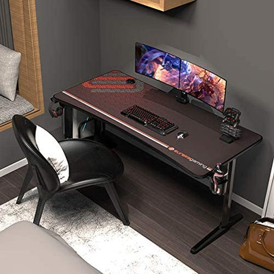 Enjoy fast, free nationwide shipping!  Owned by a husband and wife team of high-school music teachers, HawkinsWoodshop.com is your one stop shop for affordable furniture.  Shop HawkinsWoodshop.com for solid wood & metal modern, traditional, contemporary, industrial, custom, rustic, and farmhouse furniture including our Black Gaming Desk.