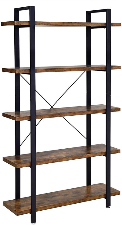 Enjoy fast, free nationwide shipping!  Family owned and operated, HawkinsWoodshop.com is your one stop shop for affordable furniture.  Shop HawkinsWoodshop.com for solid wood & metal modern, traditional, contemporary, industrial, custom, rustic, and farmhouse furniture including our 5-Layer Industrial Bookshelf Display Rack.