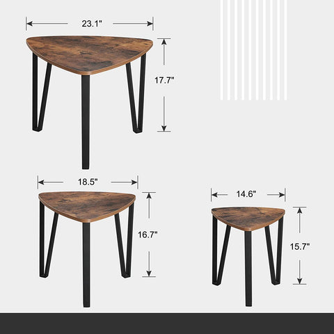 Shop hawkinswoodshop.com for solid wood & metal modern, traditional, contemporary, industrial, custom, rustic, and farmhouse furniture including our Ryan Industrial Farmhouse Nesting Coffee & End Table Set.  Ask about our free nationwide delivery service.