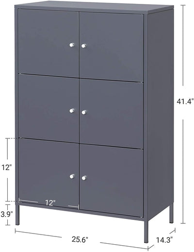 Enjoy fast, free nationwide shipping!  Family owned and operated, HawkinsWoodshop.com is your one stop shop for affordable furniture.  Shop HawkinsWoodshop.com for solid wood & metal modern, traditional, contemporary, industrial, custom, rustic, and farmhouse furniture including our 6 Doors Metal Storage Cabinet in Gray.