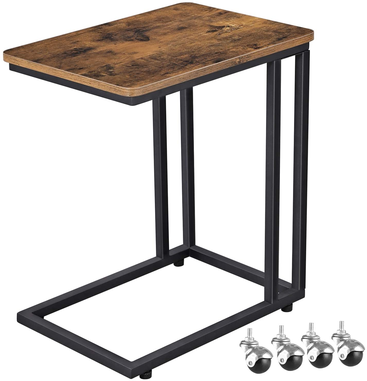 Shop hawkinswoodshop.com for solid wood & metal modern, traditional, contemporary, industrial, custom, rustic, and farmhouse furniture including our Mobile End Table Laptop Desk.  Ask about our free nationwide delivery service.