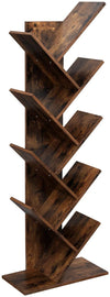 Enjoy fast, free nationwide shipping!  Owned by a husband and wife team of high-school music teachers, HawkinsWoodshop.com is your one stop shop for affordable furniture.  Shop HawkinsWoodshop.com for solid wood & metal modern, traditional, contemporary, industrial, custom, rustic, and farmhouse furniture including our Rustic Brown 8-Tier Tree Bookshelf.