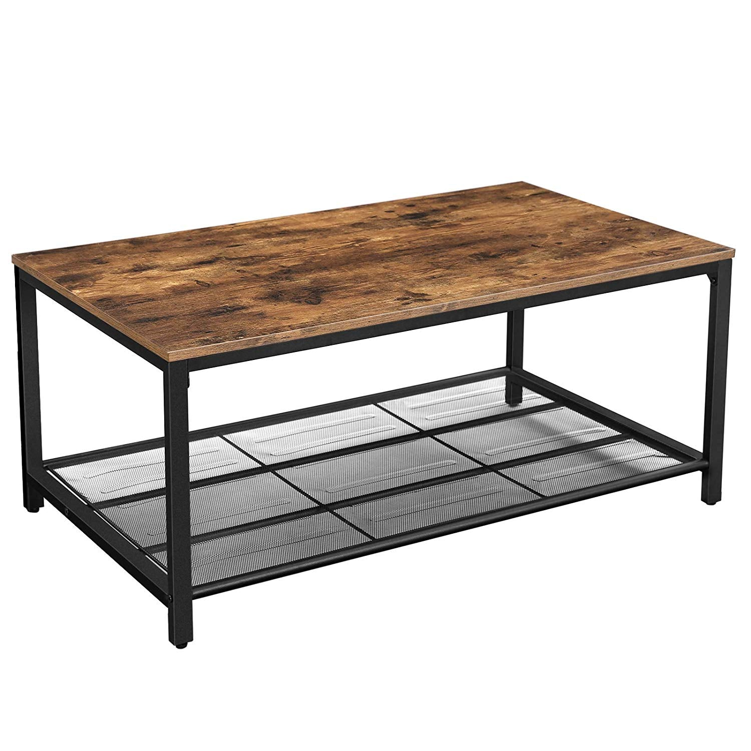 Enjoy fast, free nationwide shipping!  Owned by a husband and wife team of high-school music teachers, HawkinsWoodshop.com is your one stop shop for affordable furniture.  Shop HawkinsWoodshop.com for solid wood & metal modern, traditional, contemporary, industrial, custom, rustic, and farmhouse furniture including our Victor Industrial Coffee Table w/ Mesh Shelf.