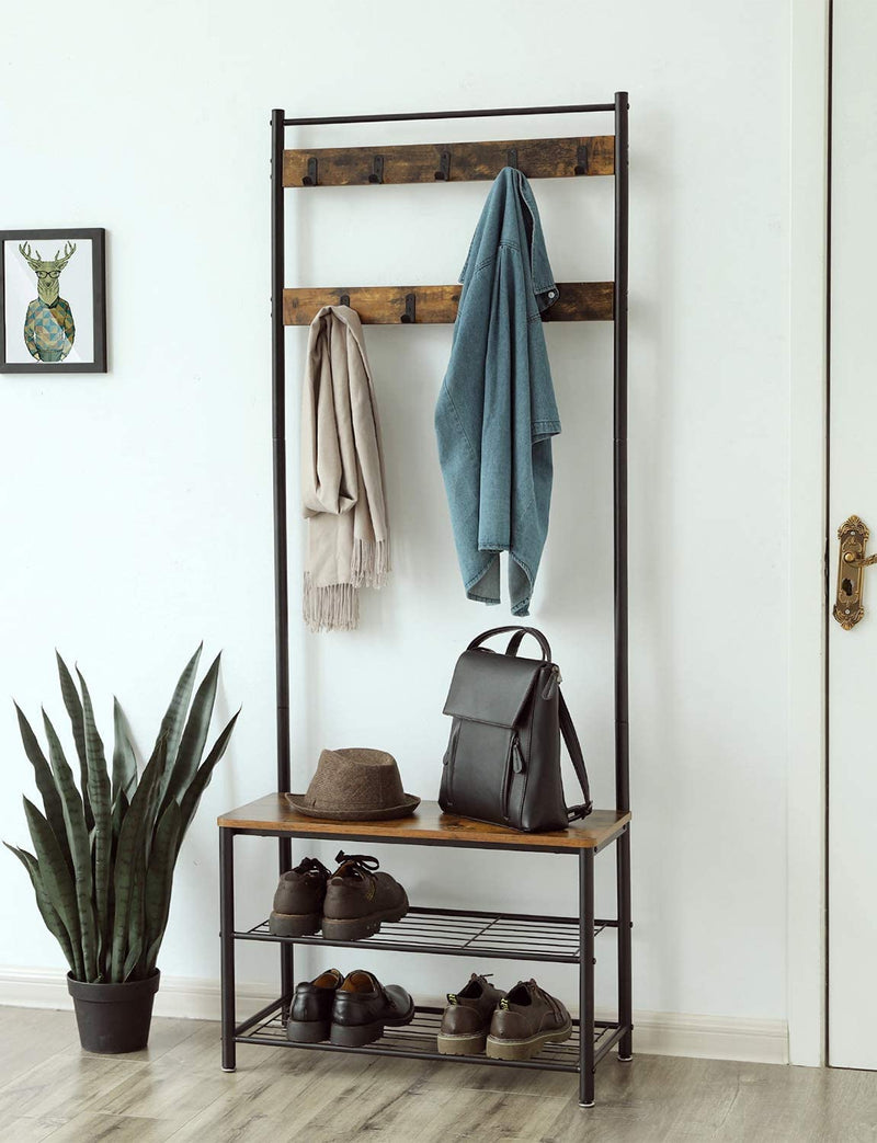 Enjoy fast, free nationwide shipping!  Family owned and operated, HawkinsWoodshop.com is your one stop shop for affordable furniture.  Shop HawkinsWoodshop.com for solid wood & metal modern, traditional, contemporary, industrial, custom, rustic, and farmhouse furniture including our Ryan II Industrial Coat Rack Hall Tree.