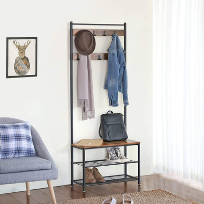 Shop hawkinswoodshop.com for solid wood & metal modern, traditional, contemporary, industrial, custom, rustic, and farmhouse furniture including our Ryan II Industrial Coat Rack Hall Tree.  Ask about our free nationwide delivery service.