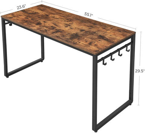 Shop hawkinswoodshop.com for solid wood & metal modern, traditional, contemporary, industrial, custom, rustic, and farmhouse furniture including our Industrial Farmhouse Computer Desk w/ Storage Hooks.  Ask about our free nationwide delivery service.