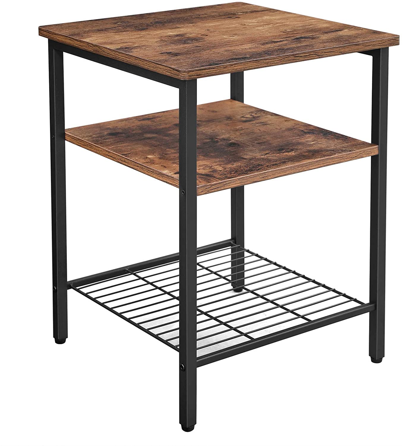 Enjoy fast, free nationwide shipping!  Family owned and operated, HawkinsWoodshop.com is your one stop shop for affordable furniture.  Shop HawkinsWoodshop.com for solid wood & metal modern, traditional, contemporary, industrial, custom, rustic, and farmhouse furniture including our Ryan Industrial Farmhouse Nightstand w/ 3 Shelves.