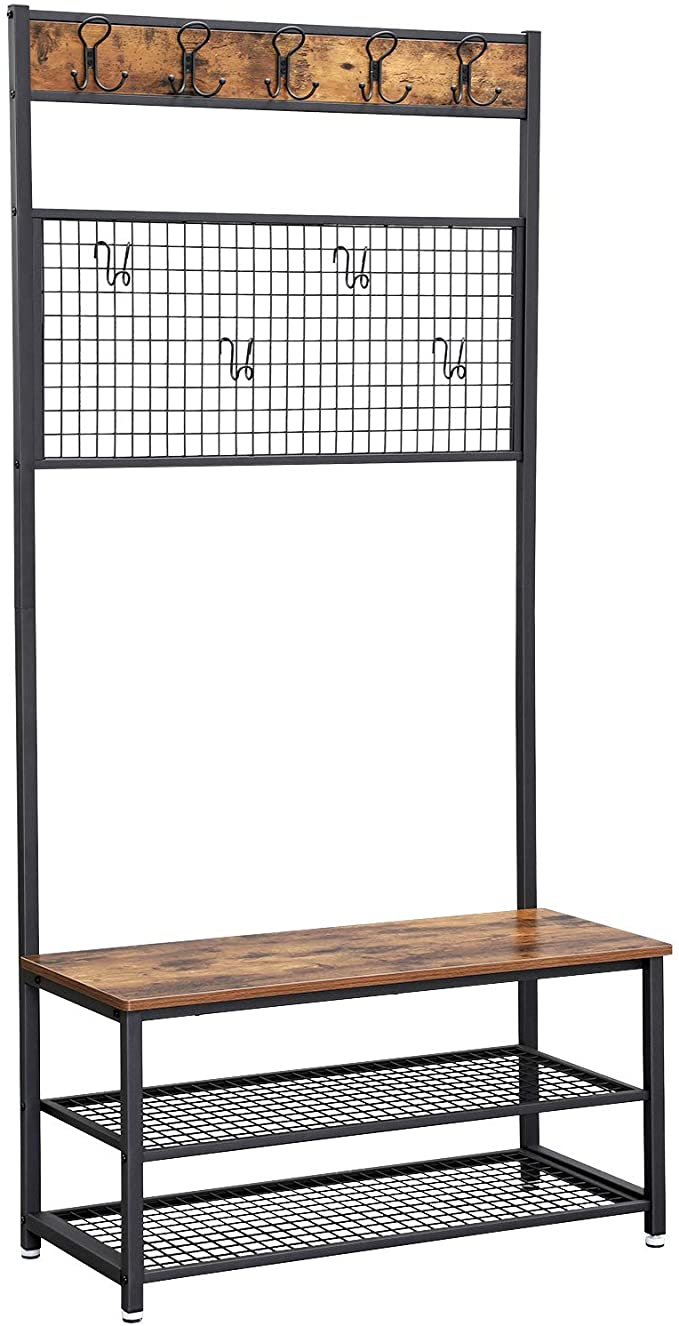 Enjoy fast, free nationwide shipping!  Family owned and operated, HawkinsWoodshop.com is your one stop shop for affordable furniture.  Shop HawkinsWoodshop.com for solid wood & metal modern, traditional, contemporary, industrial, custom, rustic, and farmhouse furniture including our Industrial Coat Rack w/Organizer.