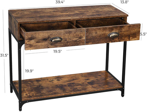 Shop hawkinswoodshop.com for solid wood & metal modern, traditional, contemporary, industrial, custom & farmhouse furniture including our Industrial Console Table w/ Double Drawer.  Ask about our free nationwide freight delivery and low cost white glove assembly services.