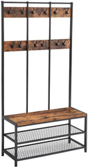 Shop hawkinswoodshop.com for solid wood & metal modern, traditional, contemporary, industrial, custom, rustic, and farmhouse furniture including our Ryan Industrial Large 12 Hook Coat Rack Hall Tree.  Ask about our free nationwide delivery service.