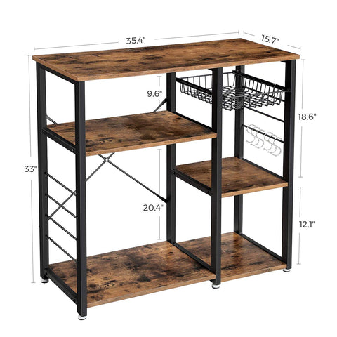 Shop hawkinswoodshop.com for solid wood & metal modern, traditional, contemporary, industrial, custom, rustic, and farmhouse furniture including our Industrial Kitchen Baker's Rack Mini Island.  Ask about our free nationwide delivery service.
