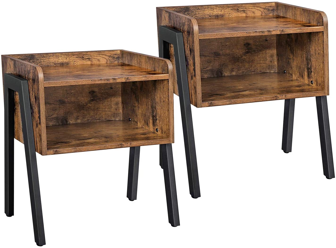 Enjoy fast, free nationwide shipping!  Family owned and operated, HawkinsWoodshop.com is your one stop shop for affordable furniture.  Shop HawkinsWoodshop.com for solid wood & metal modern, traditional, contemporary, industrial, custom, rustic, and farmhouse furniture including our Ryan Nightstands Set of 2 Stackable End Tables.