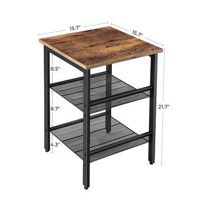 Shop hawkinswoodshop.com for solid wood & metal modern, traditional, contemporary, industrial, custom, rustic, and farmhouse furniture including our Ryan 2-Tier Shelving Industrial Nightstand End Table.  Enjoy free nationwide shipping, help with the fight against hunger in the US, and support a family owned and operated business that helps puts food on the table for folks in rural Northern California.