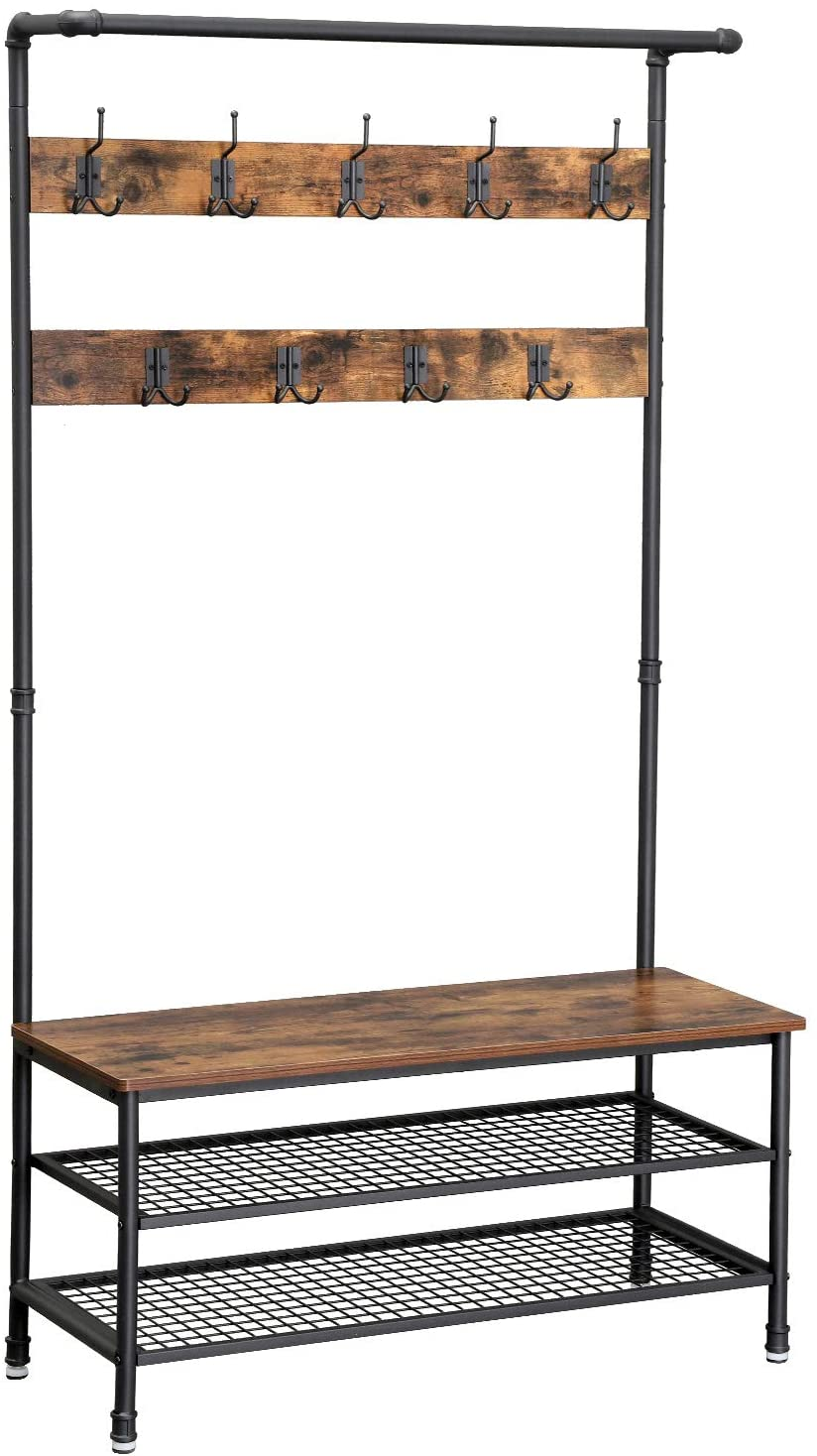 Enjoy fast, free nationwide shipping!  Family owned and operated, HawkinsWoodshop.com is your one stop shop for affordable furniture.  Shop HawkinsWoodshop.com for solid wood & metal modern, traditional, contemporary, industrial, custom, rustic, and farmhouse furniture including our Large Ryan Metal Pipe & Wood Hall Tree.